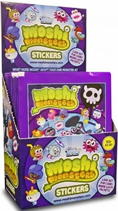 Topps Moshi Monsters Series 2 Sticker Box [50 Packs]