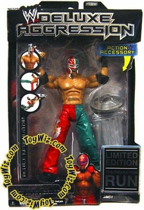 WWE Jakks Pacific Wrestling Action Figure DELUXE Aggression LIMITED EDITION Rey Mysterio