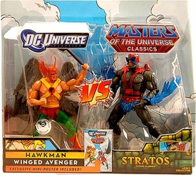 DC Universe & Masters of the Universe Classics Exclusive Action Figure 2-Pack Hawkman vs. Stratos