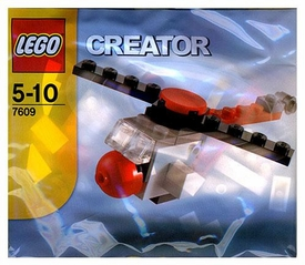 LEGO Creator Mini Figure Set #7609 Helicoptor [Bagged]