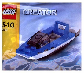 LEGO Creator Mini Figure Set #7610 Speed Boat [Bagged]