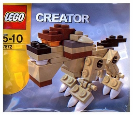 LEGO Creator Mini Figure Set #7872 Creature [Bagged]