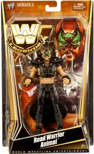 Mattel WWE Wrestling Legends Series 1 Action Figure Road Warrior Animal