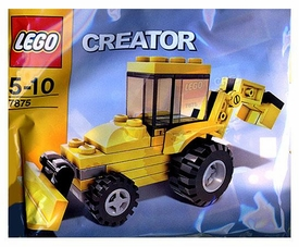 LEGO Creator Mini Figure Set #7875 Backhoe [Bagged]