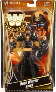 Mattel WWE Wrestling Legends Series 1 Action Figure Road Warrior Hawk