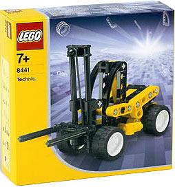 LEGO Make and Create Technic Set #8441 Fork Lift Truck