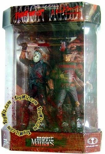 McFarlane Toys Movie Maniacs Special Edition 2-Pack Freddy Krueger & Jason Voorhees