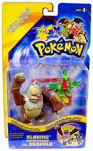 Pokemon Action Figure Grovyle vs. Slaking