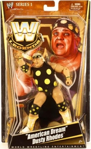 Mattel WWE Wrestling Legends Series 1 Action Figure Dusty Rhodes