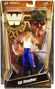 Mattel WWE Wrestling Legends Series 1 Action Figure Sgt. Slaughter