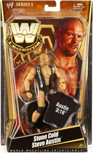 Mattel WWE Wrestling Legends Series 1 Action Figure Stone Cold Steve Austin