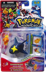 Pokemon Advanced Generation Mini Figure Set Sharpedo & Torchic