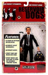 Mezco Toys Reservoir Dogs Action Figure Mr. Pink