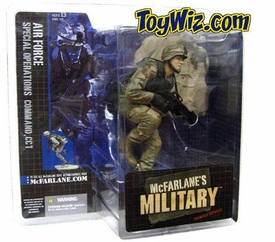 McFarlane Toys Military Soldiers Series 1 Action Figure U.S. Air Force Special Operations Command, CCT (*Random Ethnicity)