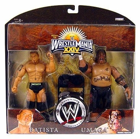 WWE Wrestlemania 24 Exclusive Series 3 Action Figure 2-Pack Batista & Umaga