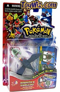 Pokemon Advanced Generation Mini Figure Set Anorith vs. Swellow
