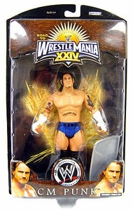 WWE Wrestlemania 24 Exclusive Series 1 Action Figure CM Punk