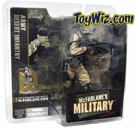 McFarlane Toys Military Soldiers Series 1 Action Figure U.S. Army Desert Infantry (*Random Ethnicity)