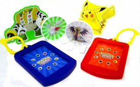 Pokemon Burger King 6 Piece Card Holder Set [LOOSE]