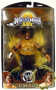 WWE Wrestlemania 24 Exclusive Series 1 Action Figure Umaga