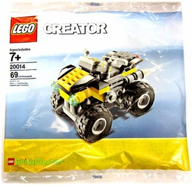 LEGO Creator BrickMaster Exclusive Set #20014 Quad Bike[Bagged]