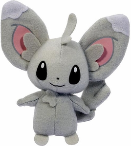 Pokemon Black & White Toy Plush Series 3 Throw Poke Ball Minccino