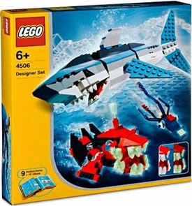LEGO Make & Create Designer Set #4506 Deep Sea Predators