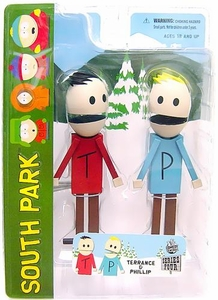 Mezco Toyz South Park Series 4 Action Figure Terrance & Phillip