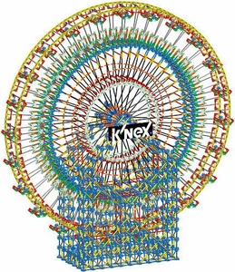 K'NEX Set #89790 6-Foot Ferris Wheel