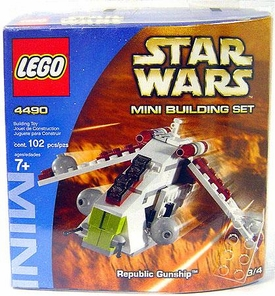 LEGO Star Wars Mini Set #4490 Republic Gunship
