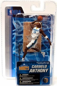 McFarlane Toys NBA 3 Inch Sports Picks Mini Action Figure Carmelo Anthony (Denver Nuggets)