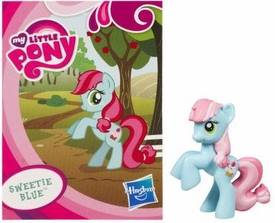 My Little Pony Friendship is Magic 2 Inch PVC Figure Series 1 Sweetie Blue