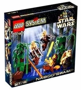 LEGO Star Wars Set #7121 Naboo Swamp
