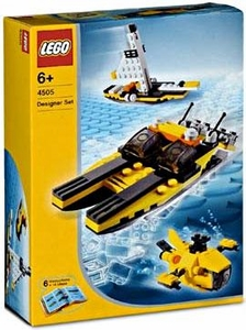 LEGO Creator Make and Create Designer Set #4505 Sea Machines