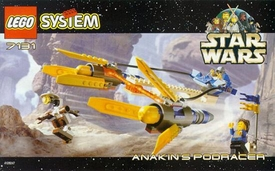 LEGO Star Wars Set #7131 Anakin's Podracer