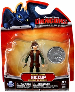 Dragons Defenders of Berk 3 Inch Mini Figure Hiccup