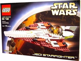 LEGO Star Wars Set #7143 Jedi Starfighter