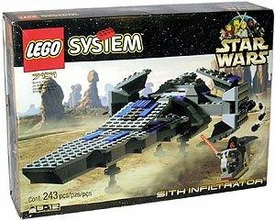 LEGO Star Wars Set #7151 Sith Infiltrator