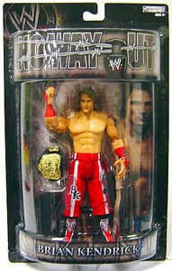WWE Wrestling PPV Pay Per View Series 15 No Way Out Action Figure Brian Kendrick