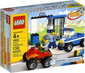 LEGO Bricks & More #4636 Police Building Set