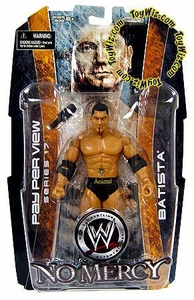 WWE Wrestling PPV Pay Per View 17 Action Figure Batista