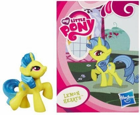 My Little Pony Friendship is Magic 2 Inch PVC Figure Series 1 Lemon Hearts