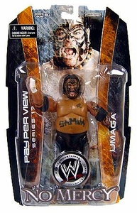 WWE Wrestling PPV Pay Per View 17 Action Figure Umaga