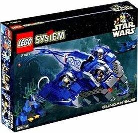 LEGO Star Wars Set #7161 Gungan Sub
