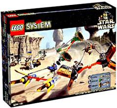 LEGO Star Wars Set #7171 Mos Espa Podrace