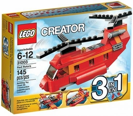 LEGO Creator Set #31003 Red Rotors