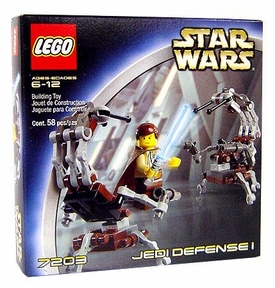 LEGO Star Wars Set #7203 Jedi Defense 1