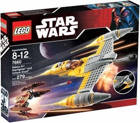 LEGO Star Wars Set #7660 Naboo N-1 Starfighter & Vulture Droid
