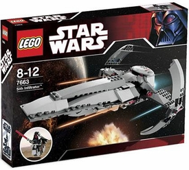 LEGO Star Wars Exclusive Set #7663 Sith Infiltrator