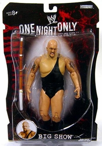 WWE Wrestling PPV Pay Per View Series 19 One Night Only Action Figure Big Show